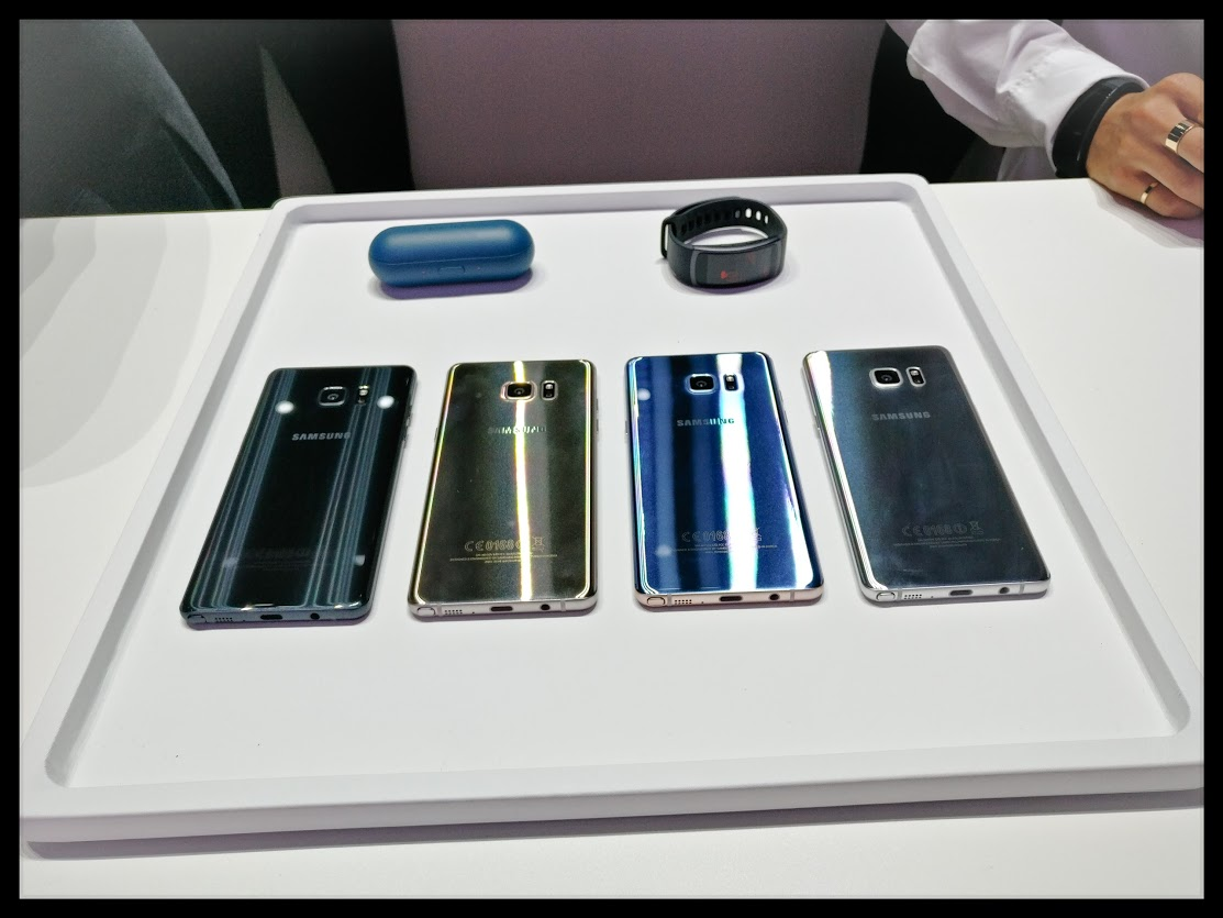 [Video] Hands On with the Samsung Galaxy Note 7