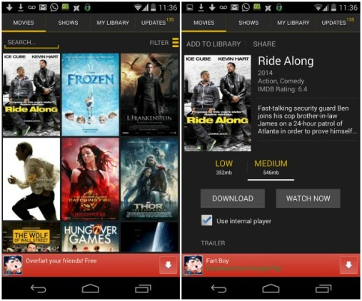 Show Box-  Watch movies & Tv shows