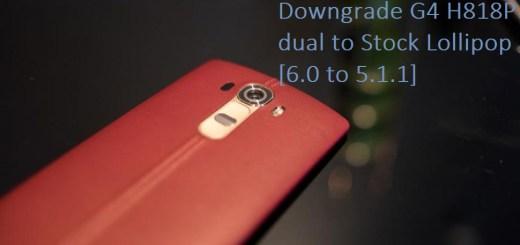 Downgrade LG G4 H818P to Lollipop