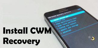 CWM CUSTOM RECOVERY on GALAXY NOTE