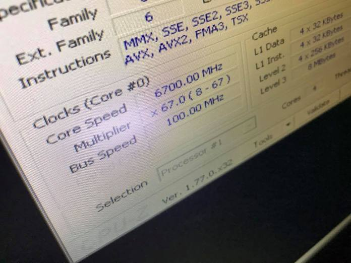 i7-7700k overclock to 6/7GHz