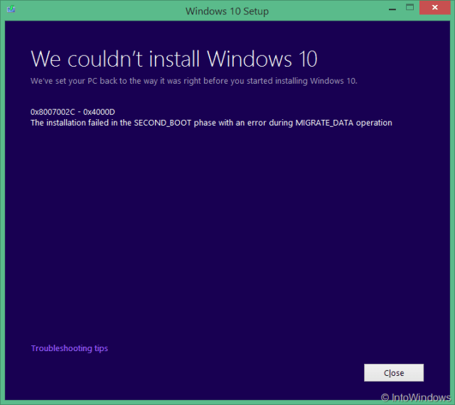 we-couldnt-install-windows-10