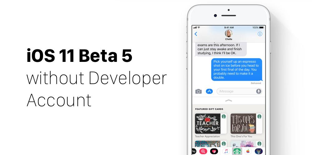 Iphone developer account free