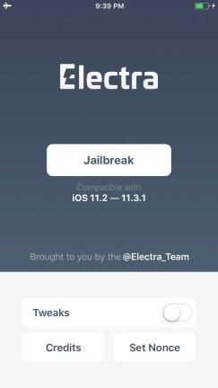 Electra1131 jailbreak ipa