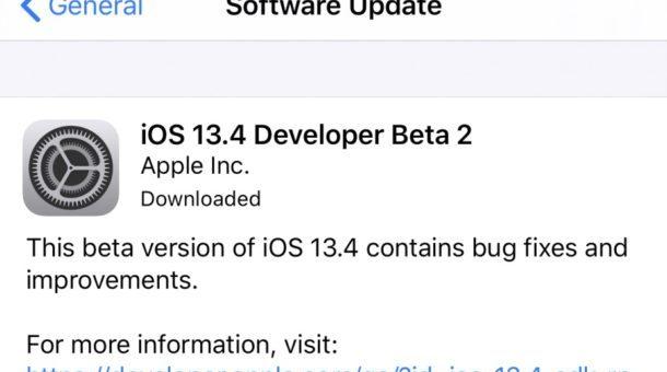 ios 13.4 beta 2 ipsw download