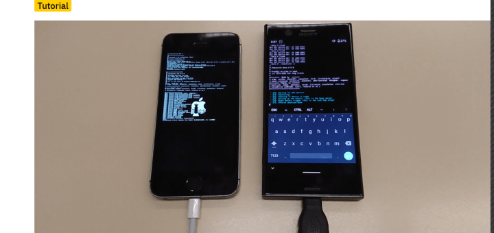 checkra1n jailbreak iphone using an android phone