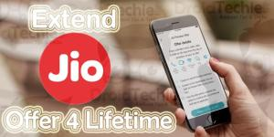 Trick to Extend Reliance Jio Welcome Offer for Life
