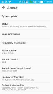 Asus Zenfone 2 Official Android 6 Full Firmware Version WW-4.21.40.184 (MM)