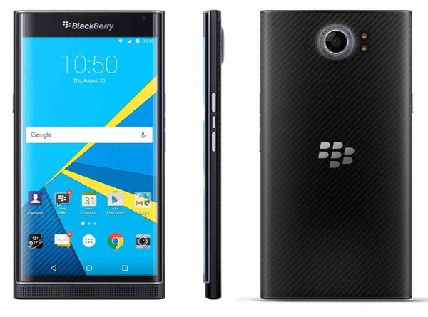 The BlackBerry Priv will not see Google's Android Nougat update