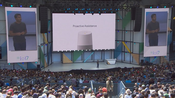 Google Home gets Proactive Assistance, Hands-Free Calling, and Visual Responses at Google IO 2017