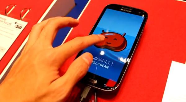 Android 4.1.1 Jelly Bean Update verfügbar für Samsung Galaxy S3 - Schwarz Galaxy S3 Update für Android 4.1.1 Jelly Bean - Droid Views