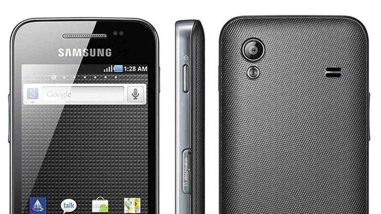 Samsung Galaxy Ace S5830 - Näheres Aussehen der Vorder- und Rückseite des Samsung Galaxy Ace S580 - Droid Views