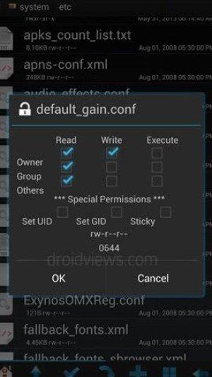 Galaxie s4 Volumen Boost-Fix-Erlaubnis