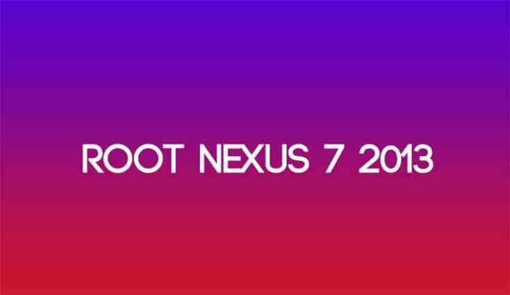 Root Nexus 7 Ausgabe 2013