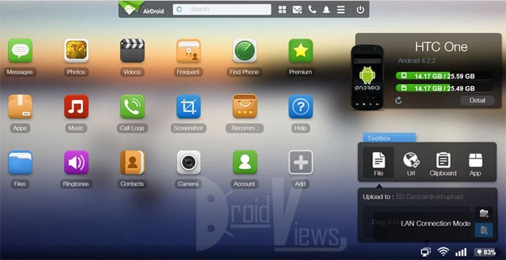 Airdroid-Wireless-Transfer-Tool