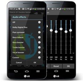 Dolby Equalizer auf LG G Flex