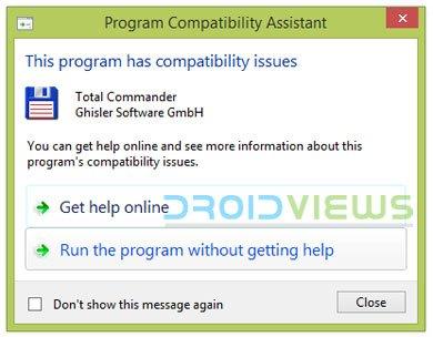 Windows-Programmkompatibilität