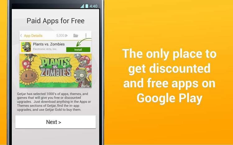 Getjar: Bezahlte Apps kostenlos
