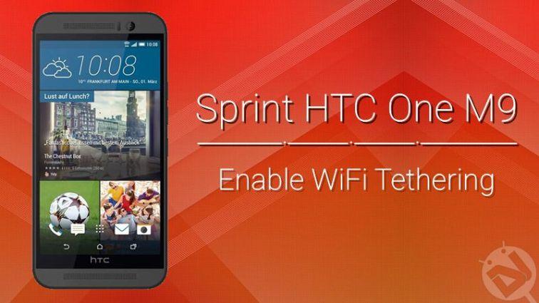 Anbinden am Sprint HTC One M9