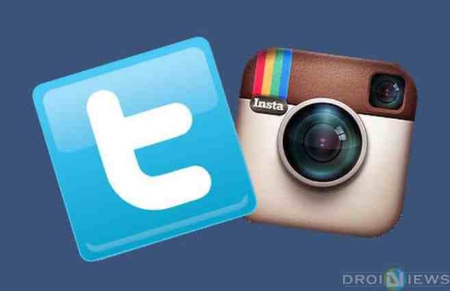 Instagram Fotos auf Twitter