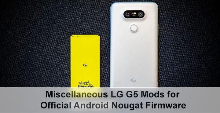 lg g5 and lg