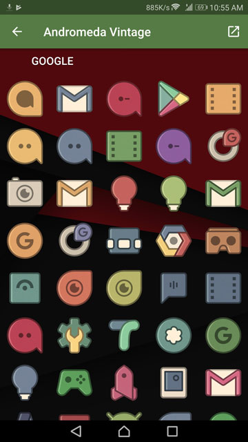 Icon Packs And Live Wallpapers Currently Free On Google Play Store