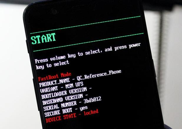 OnePlus fastboot mode