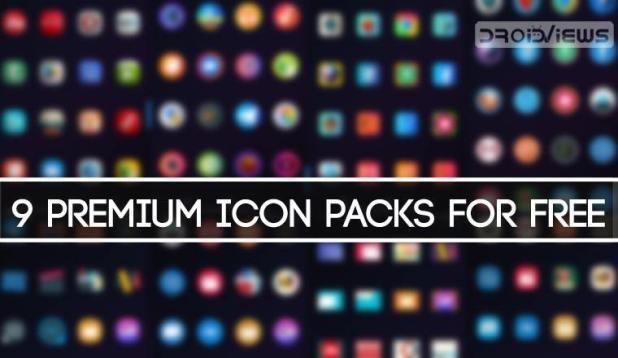 Premium Icon Packs for Free