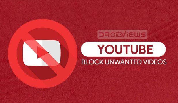 Block Videos on YouTube