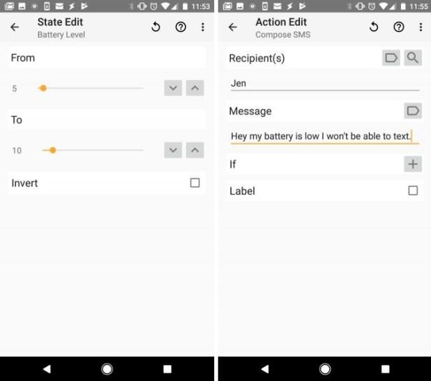 Auto-send messages task