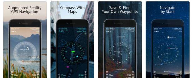 Spyglass Outdoor navigation app