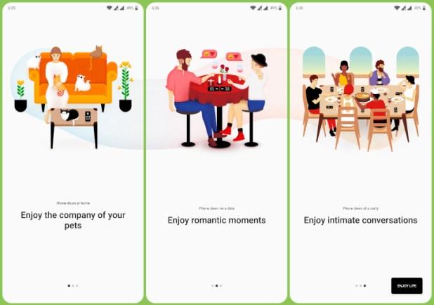 OnePlus 7 Pro Zenmode screenshots