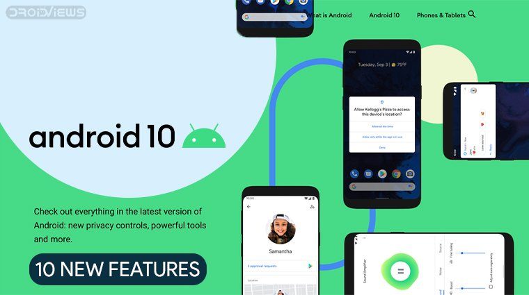 10 New Android 10 Features To Get Excited About - DroidViews