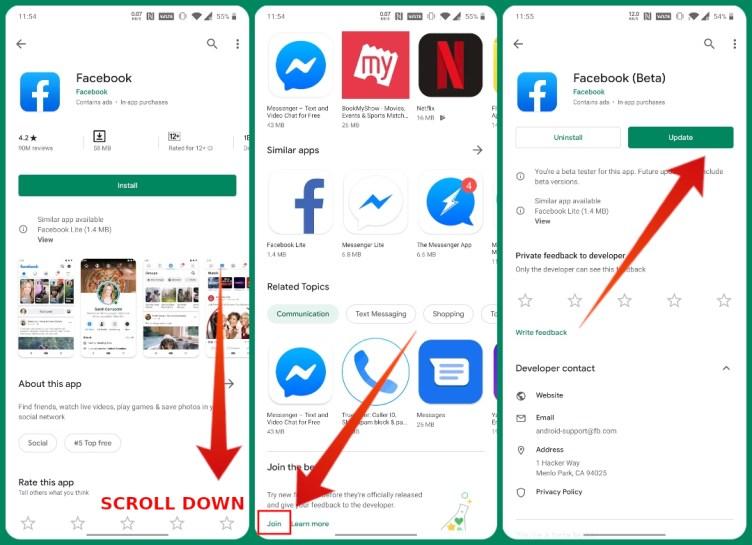 Google Play Store Beta Program Functionality