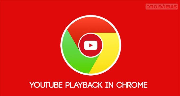 YouTube Playback-Steuerelemente in Chrom