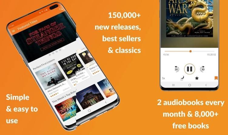 Audiobooks Features app