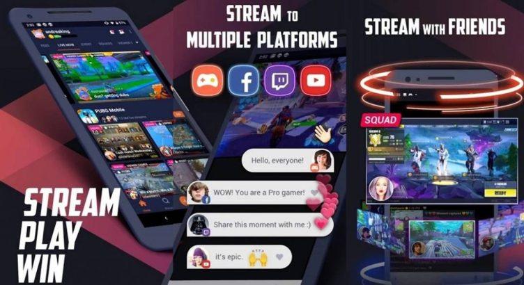 Omlet arcade live broadcast application