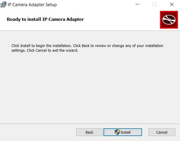 Installieren Sie den IP-Kameraadapter auf dem PC