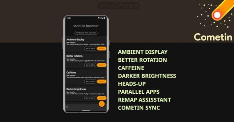 Cometin Android Tweaks und Mods