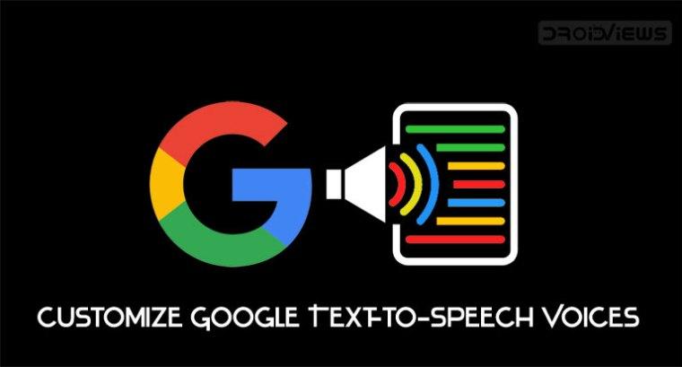 Google Text zu Sprachstimmen