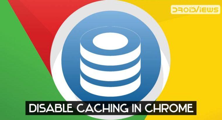 Deaktivieren Sie den Chrome-Cache