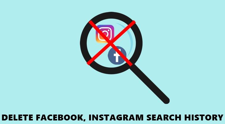 Verlauf löschen Facebook Instagram
