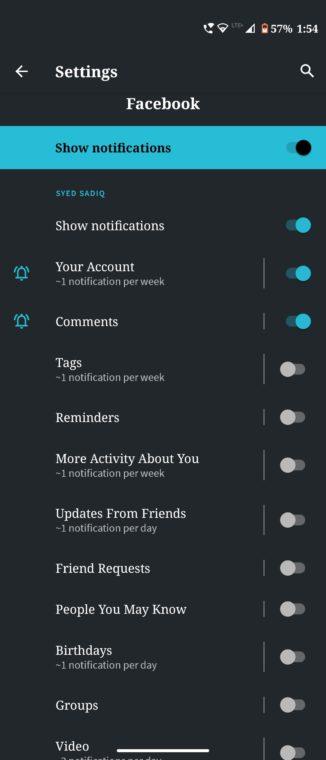 App-Benachrichtigungen zurücksetzen