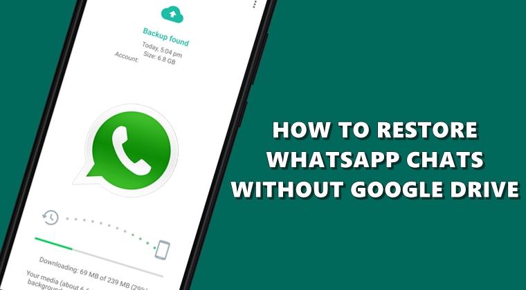 WhatsApp wiederherstellen