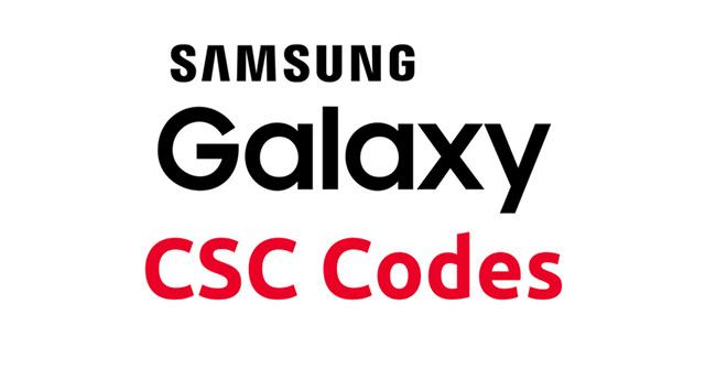 CSC auf Samsung-Geräten