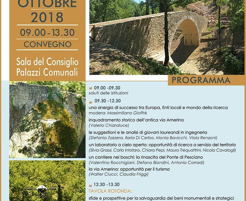 Restauro dei Ponti sull'antica Via Amerina | Evento | Droinwork