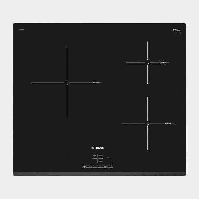 Bosch Puc631bb2e placa de induccion 3 fuegos 24 cm