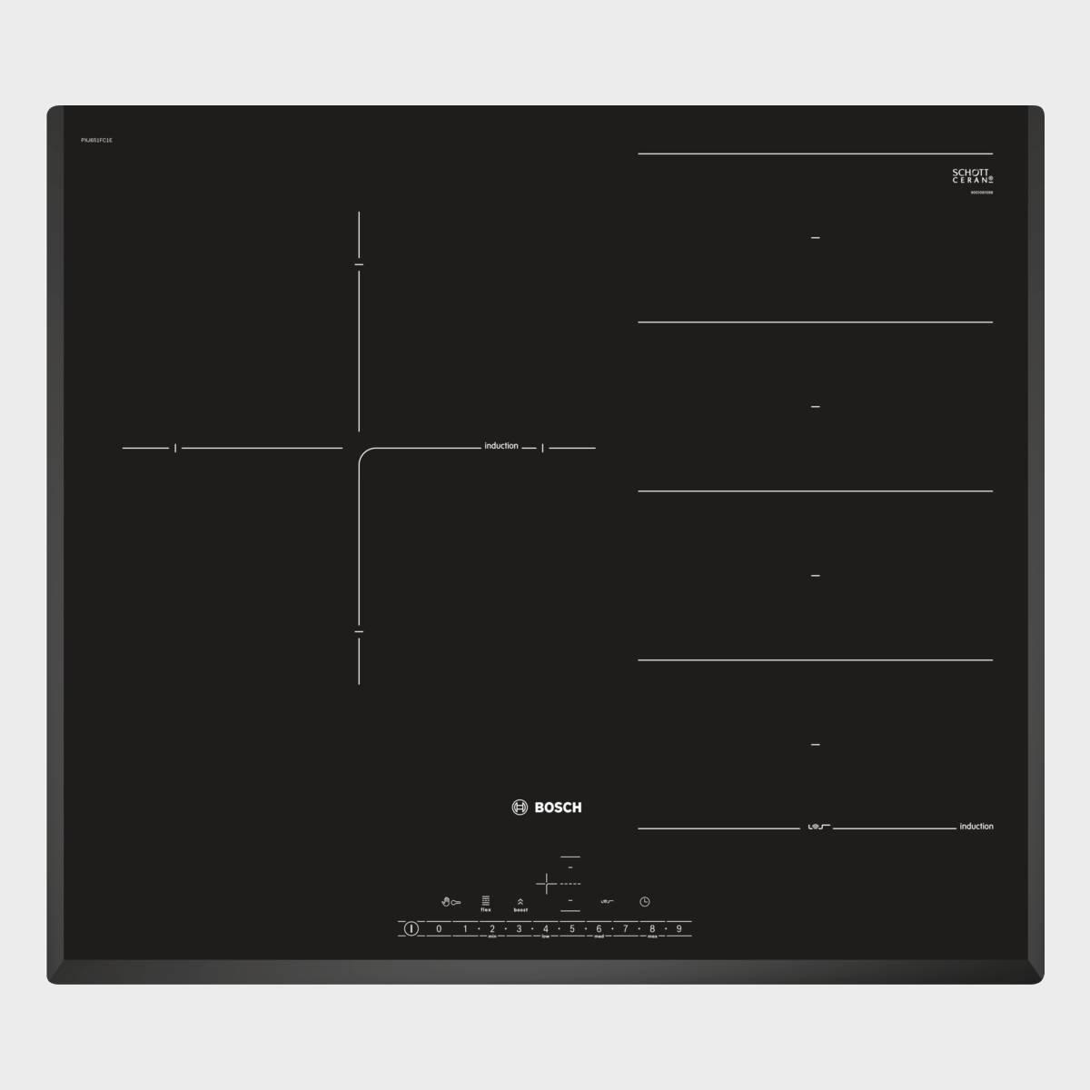 Placa Induccion Bosch Pxj651fc1e