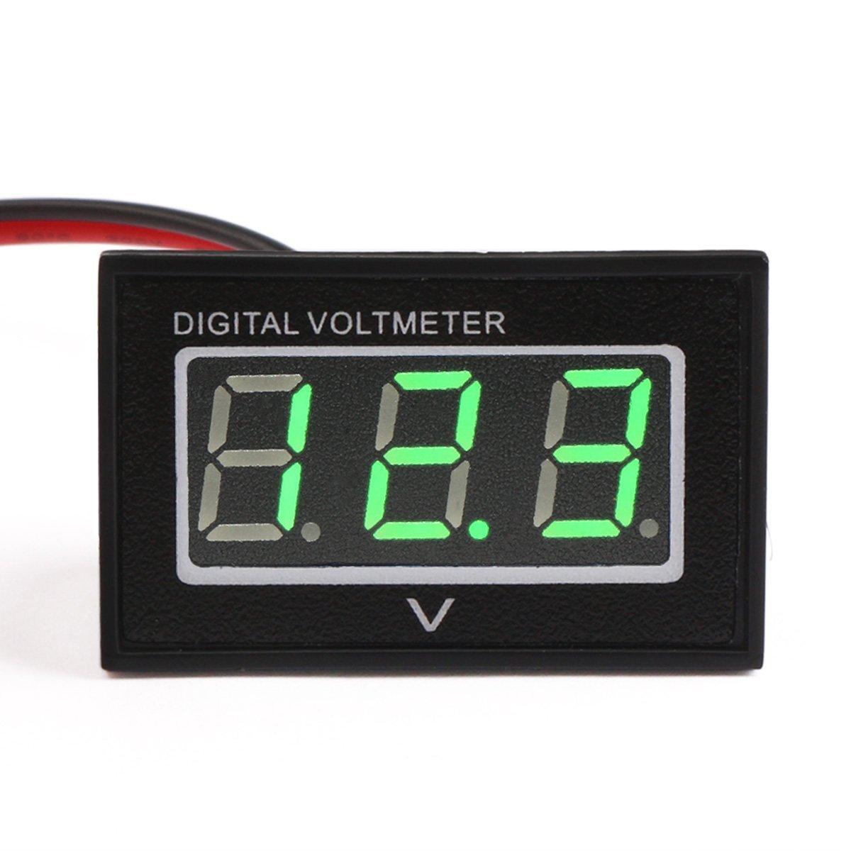 hight resolution of 100019 dc voltmeter