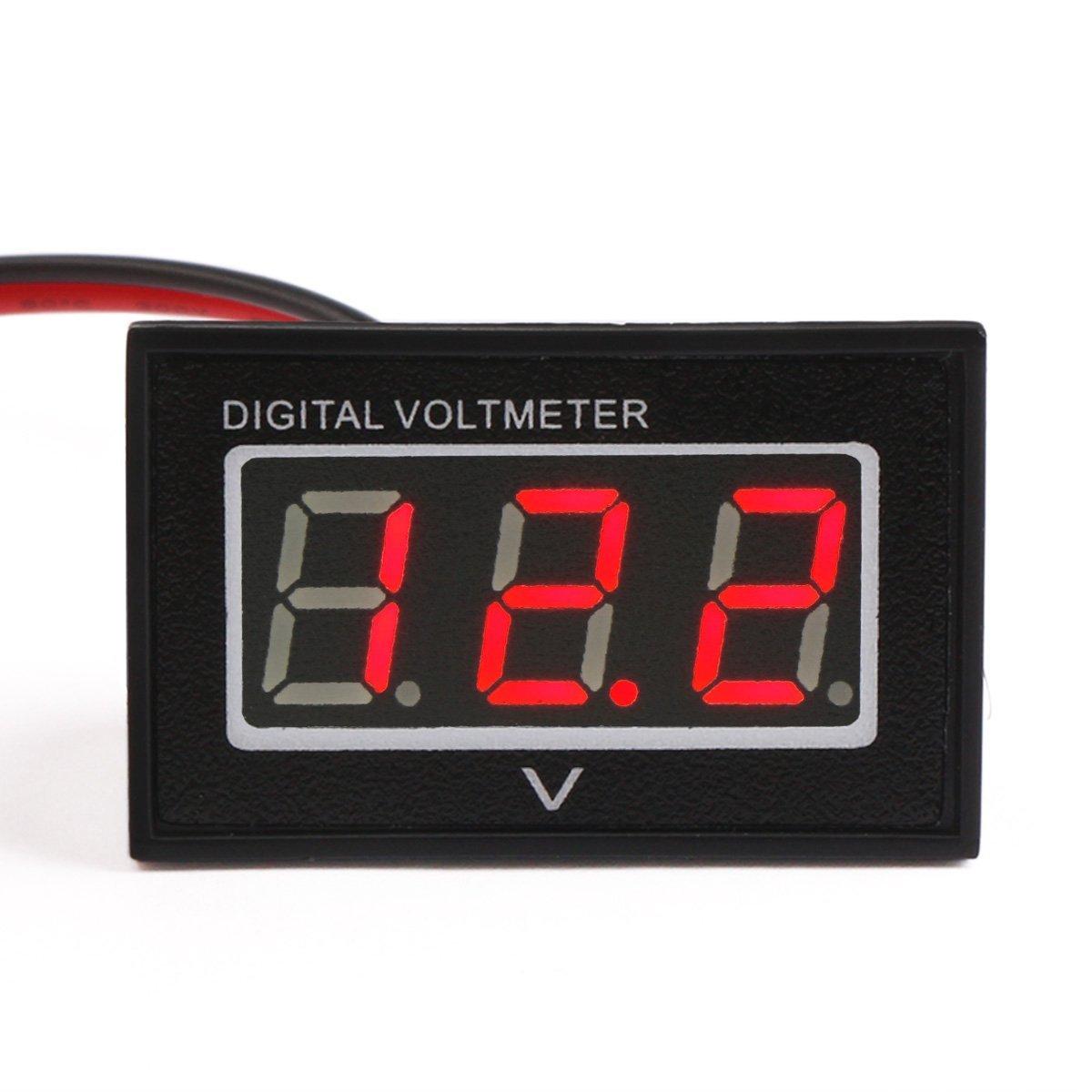 hight resolution of 100017 dc voltmeter